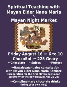 ChocoSol Mayan Night Market August 2013