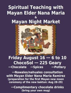 ChocoSol Mayan Night Market August 2013