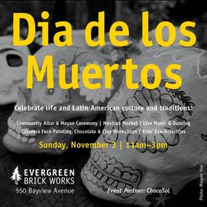 Evergreen Day of the Dead 2013 Poster