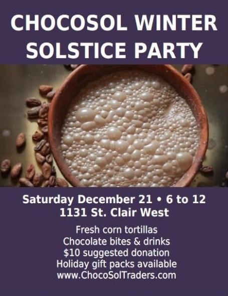 ChocoSol Winter Solstice 2013 Poster