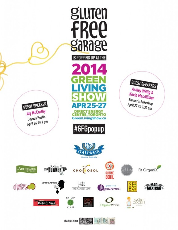 Green Living Show 2014 Gluten Free Pop Up