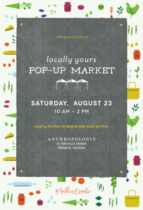 Yorkville Anthropologie Pop-Up Market, 23Aug2014