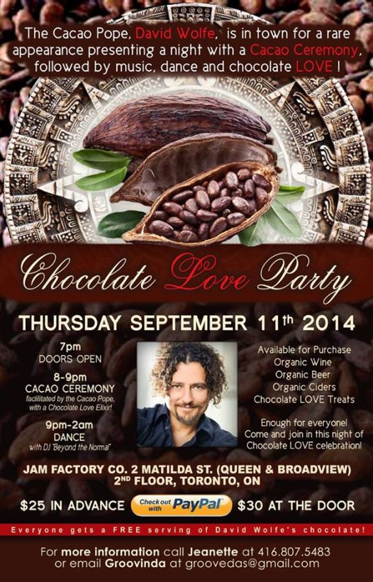 Chocolate Love Party 2014