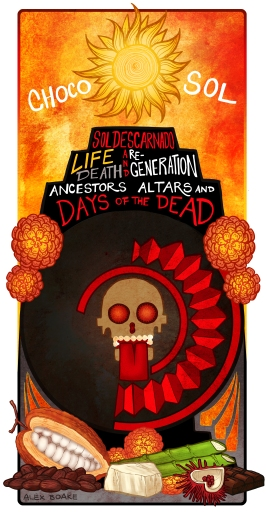 ChocoSol Day of the Dead Poster