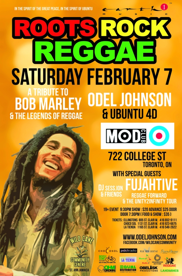 ROOTS ROCK REGGAE Poster 07Feb2015