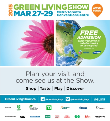 Green Living Show 2015 Poster - Free Admission Details