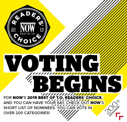 Now Magazine Best of Voting Begins